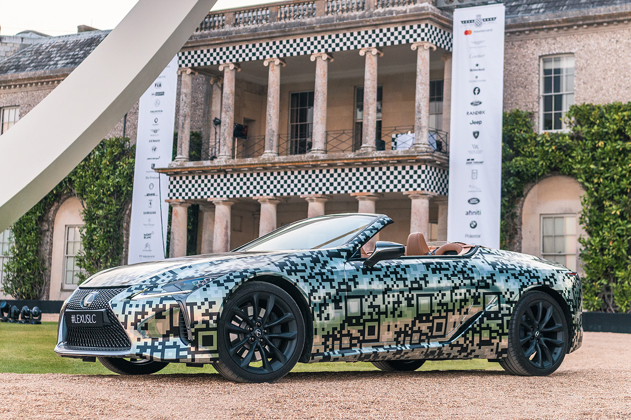 Lexus Unveils LC Convertible Prototype at Goodwood Festival of Speed