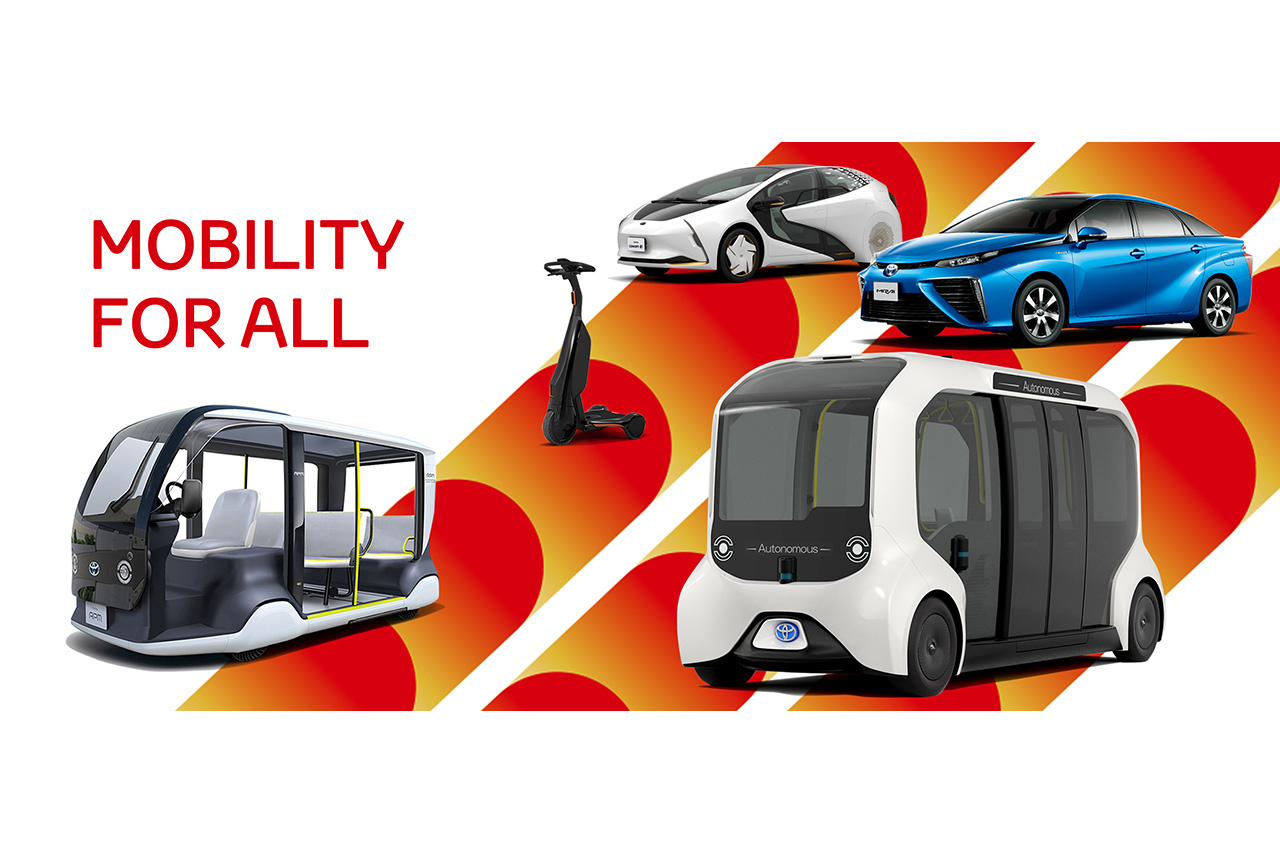 Toyota Provides Diverse Mobility for Tokyo 2020, including a Full Line-up of Electrified Vehicles