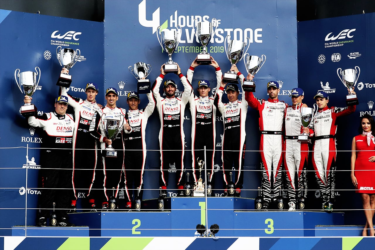 Silverstone One-Two for TOYOTA GAZOO Racing