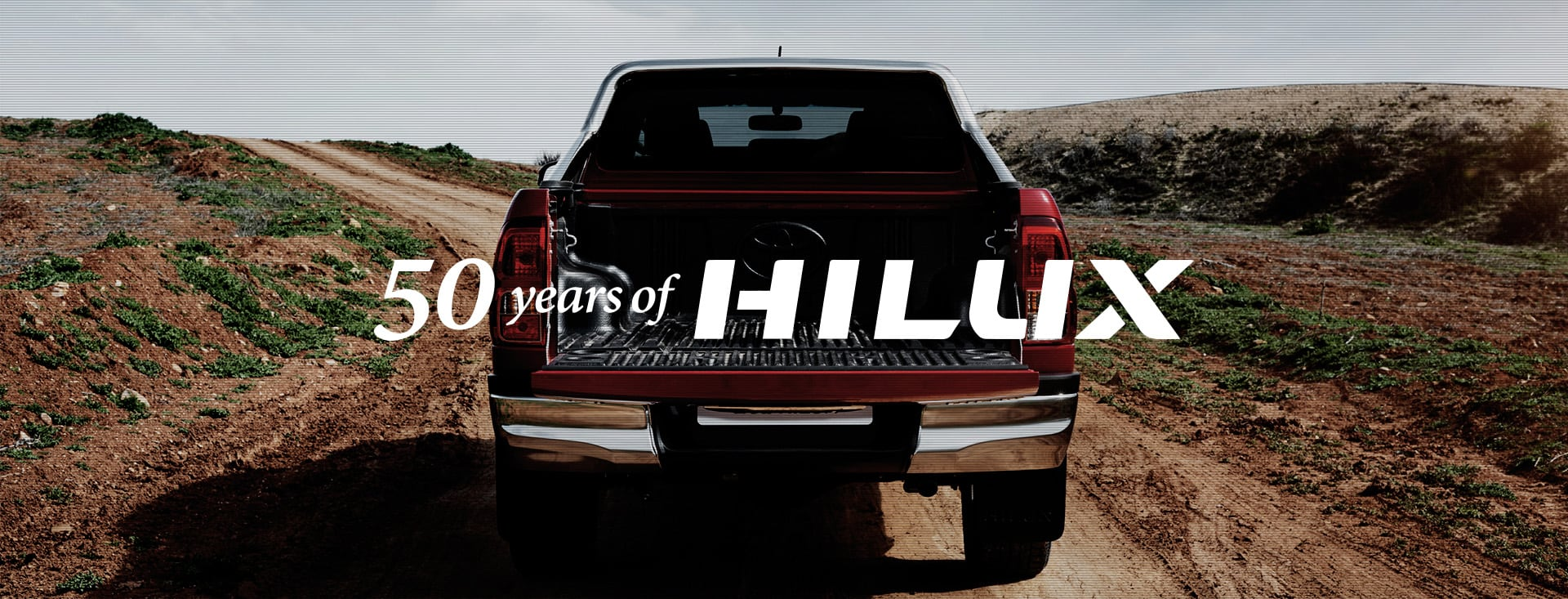 Hilux 50th Anniversary Special Website