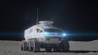 Manned pressurized rover for lunar exploration
