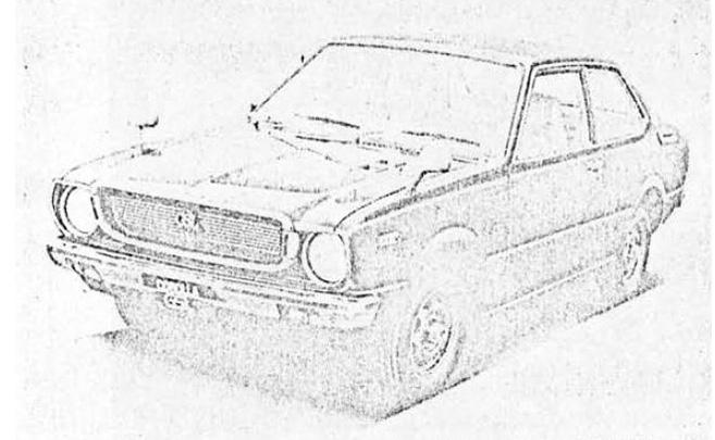 カローラ30 セダン 1600GSL(2ドア)(TE31-MZB)'74.4