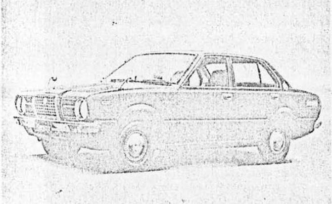 スプリンター セダン 1200DX(4ドア)(KE40-KDF)'74.4