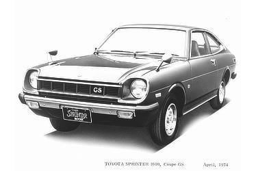TOYOTA SPRINTER 1600, Coupe GS