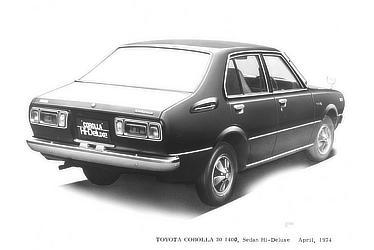 TOYOTA COROLLA 30 1400, Sedan Hi-Deluxe