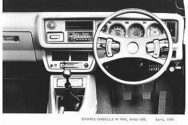 TOYOTA COROLLA 30 1600, Sedan GSL