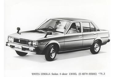 TOYOTA COROLLA Sedan 4-door 1300GL (E-KE70-EEKNS)