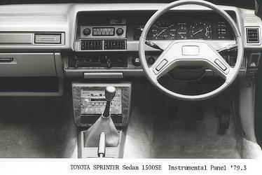 TOYOTA SPRINTER Sedan 1500SE Instrumental Panel