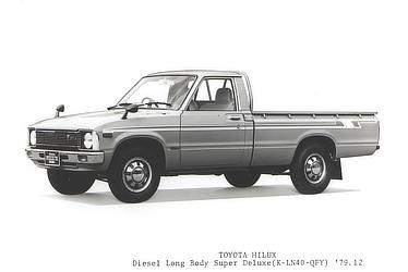 TOYOTA HILUX Diesel Long Body Super Deluxe (K-LN40-QFY)