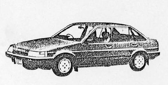 スプリンター セダン 4ドア 1500SEサルーン(E-AE81/FEHES) 175/70SR13スチールラジアルタイヤ、アルミホイールはオプション
