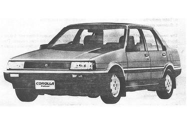 COROLLA SEDAN 4 DOOR 1500SE SALOON (E-AE81-EEHES)
