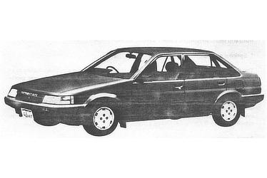 SPRINTER SEDAN 4 DOOR 1500SE SALOON (E-AE81-FEHES)