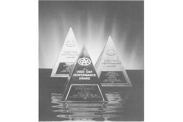 1985 CAA USED CAR PERFORMANCE AWARD