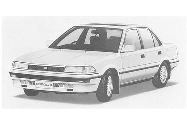 COROLLA SEDAN 1500 SE LIMITED May 1987