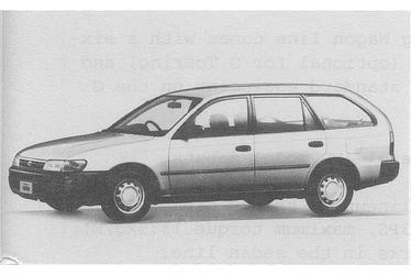 Corolla Van 2000 Diesel GL Extra