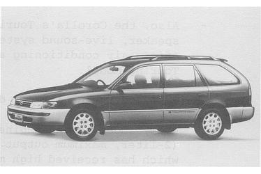 Corolla Wagon 1500 G Touring