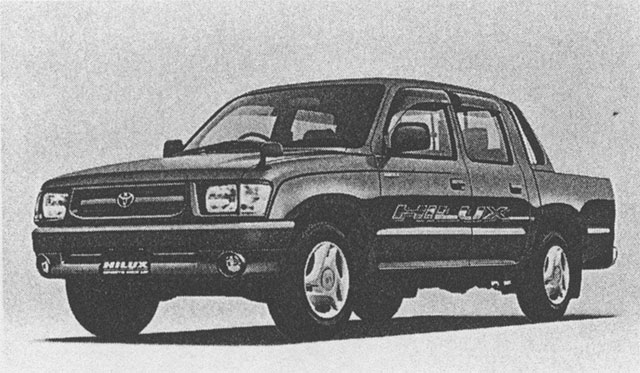 Hilux Sports Pickup 2WD (with options)