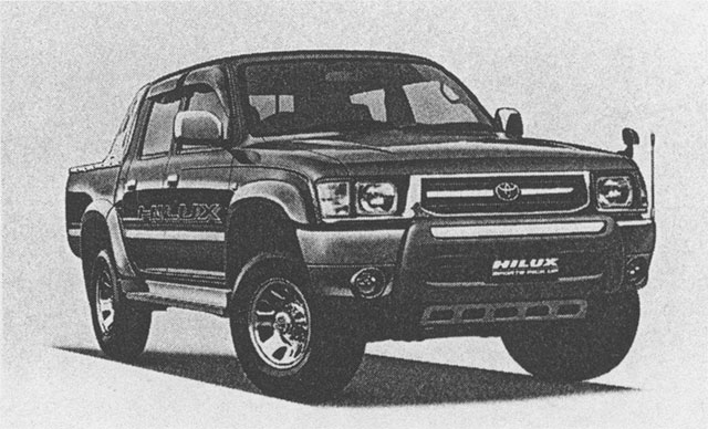 Hilux Sports Pickup 4WD (with options)