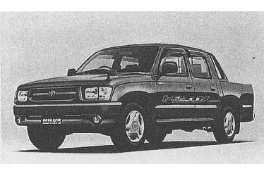 Hilux Sports Pickup 2WD(with options)