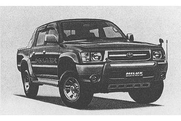 Hilux Sports Pickup 4WD(with options)