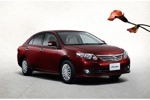 """アリオン特別仕様車A18""""Gパッケージ・Limited Power-Seat Edition""""2WD(ブラッキッシュレッドマイカ)"""