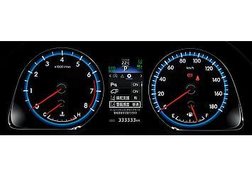 オプティトロンメーター (メーター照度コントロール付) (ガソリン車)
