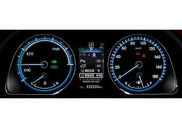 オプティトロンメーター (メーター照度コントロール付) (ハイブリッド車)