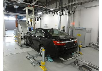 Exhaust testing