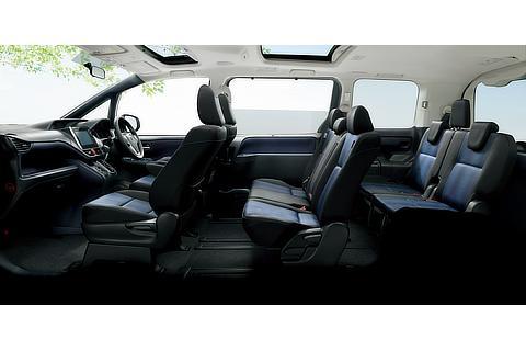 Si (8人乗り・2WD) (内装色 : ダークブルー&ブラック) 〈オプション装着車〉