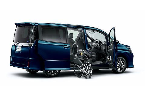 ウェルキャブ フレンドマチック取付用専用車[ウェルライド] ZS (2WD) (ブラッキッシュアゲハガラスフレーク) 〈オプション装着車〉