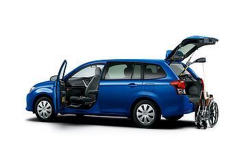 """ウェルキャブ HYBRID G (2WD) 助手席回転スライドシート車""""Bタイプ"""" (ブルーメタリック) 〈オプション装着車〉"""