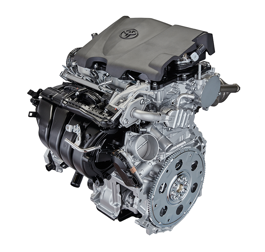 New 2.5-liter Direct-injection, Inline 4-cylinder Gasoline Engine