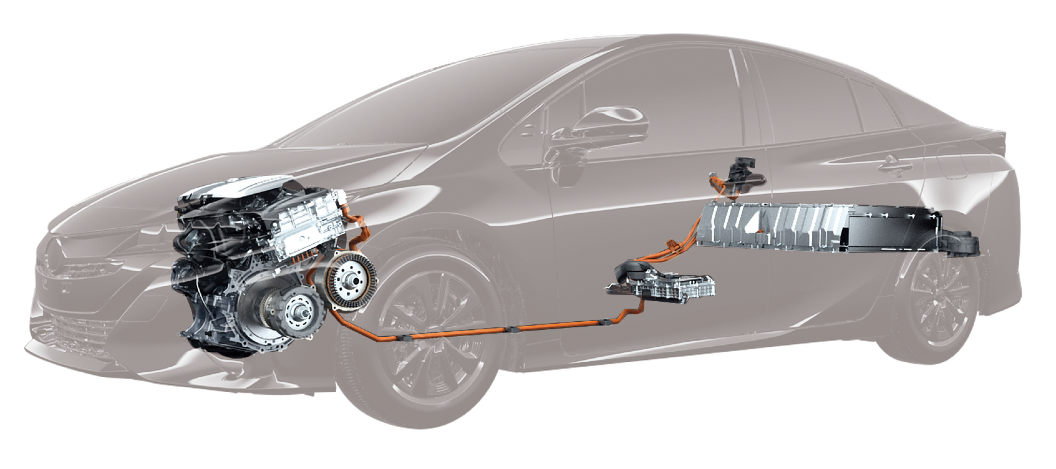 The system for plugin hybrid vehicles