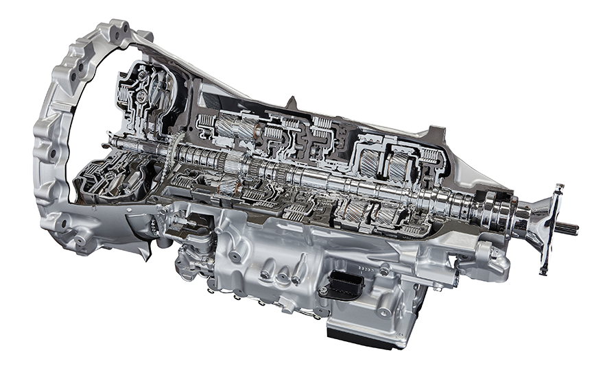 New 8-speed and 10-speed Automatic Transmissions (Direct Shift-8AT