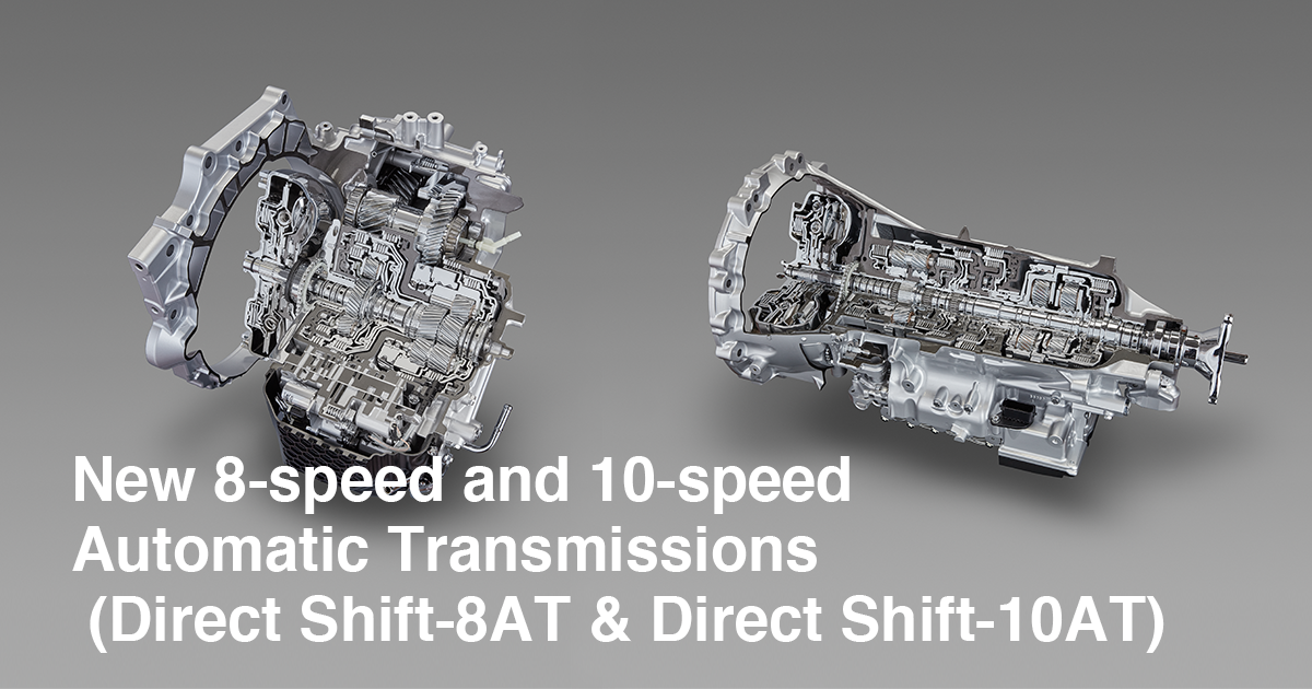 New 8-speed and 10-speed Automatic Transmissions (Direct