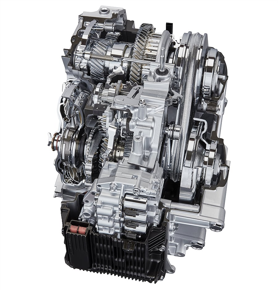 Direct Shift-CVT: A New Type of Continuously Variable Transmission
