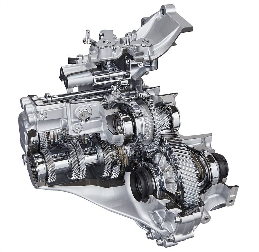 New 6-speed Manual Transmission (6MT)