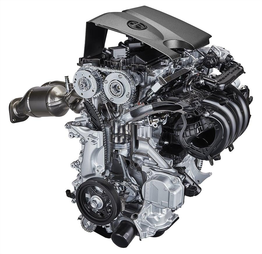 新型「直列4気筒2.0 L直噴エンジン」 -Dynamic Force Engine(2.0L)-
