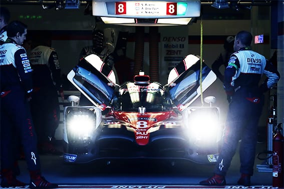 History of Toyota Hybrid System-Racing (THS-R)