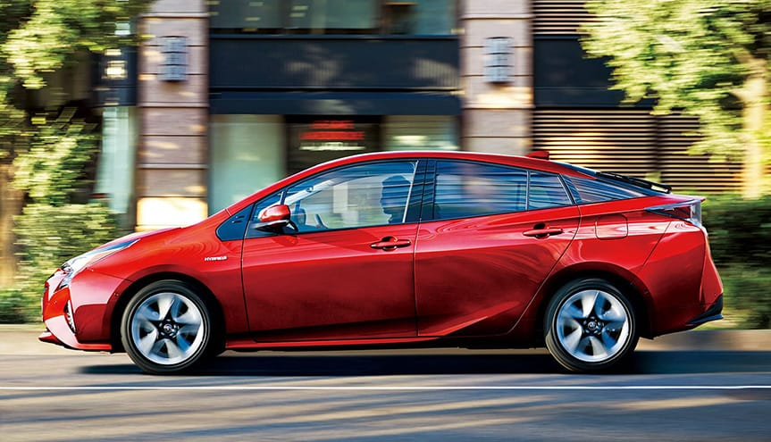"Pursuing distinct characteristics to recognize at a glance that it is the Prius, as well as intuitive functions ―The ""ICONIC Human-tech"" concept―"
