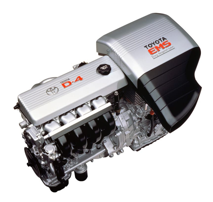1.5L TOYOTA D-4 Engine & CVT (belt-type continuously variable transmission)