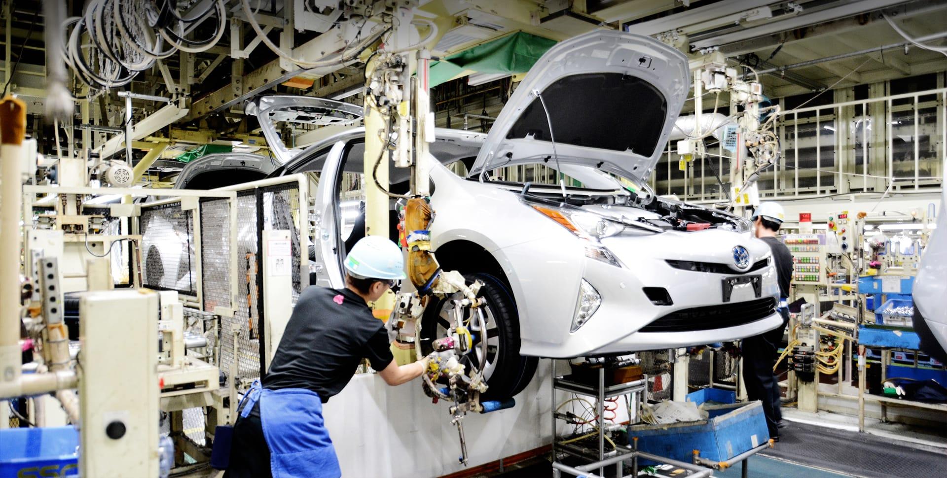 Totally Clean Car Manufacturing At An Environmentally Friendly