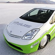 Under the skin of the Toyota Land Speed Prius