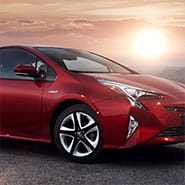 Break free of the city in the New Prius