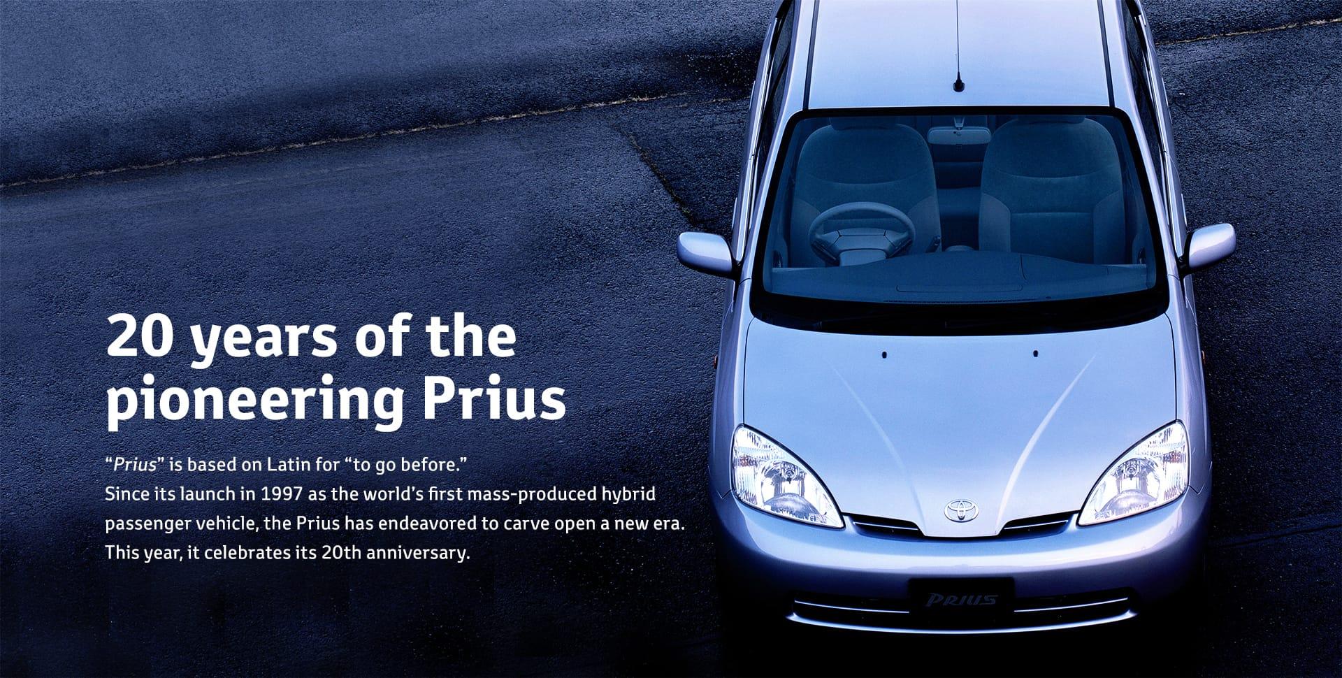 20 years of the pioneering Prius   TOYOTA Global Newsroom