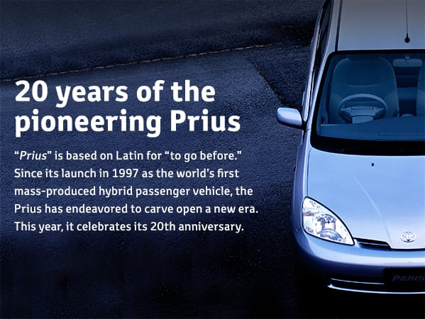 20 years of the pioneering Prius