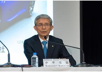 Executive Vice President Nobuyori Kodaira at FY2015 2Q Financial Results Press Briefing