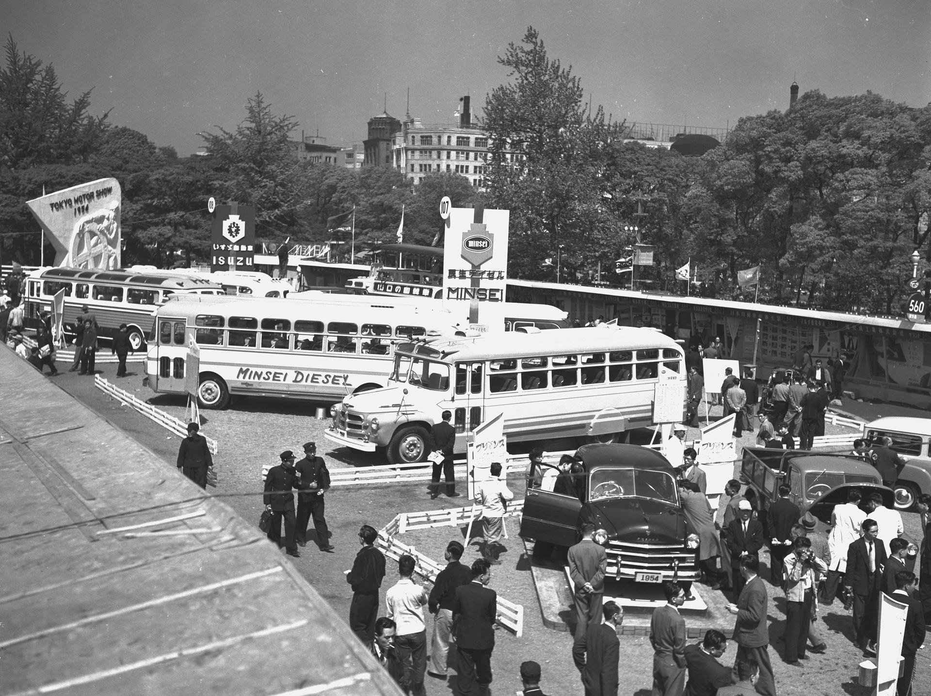 1954年 | トヨタグローバルニュ...