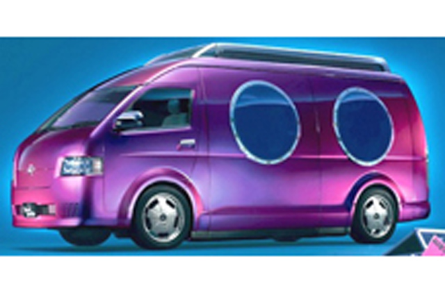 HIACE Sound Satellite